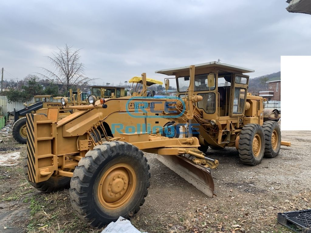 Road Construction Equipments 도로장비 Thiết bị thi công đường CATERPILLAR 140G