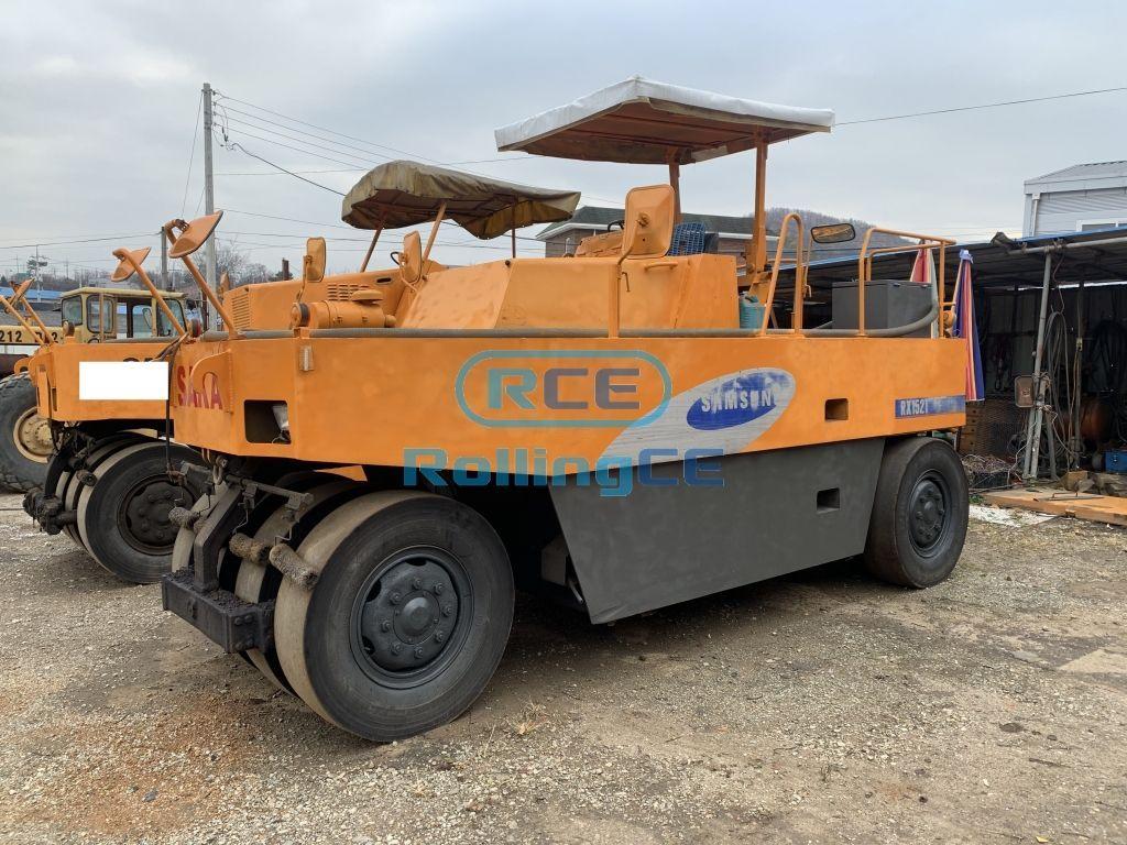 Road Construction Equipments 도로장비 Thiết bị thi công đường SAMSUNG RX152T