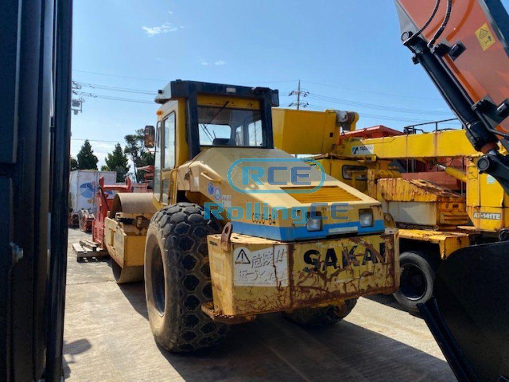 Road Construction Equipments 도로장비 Thiết bị thi công đường SAKAI SV512D