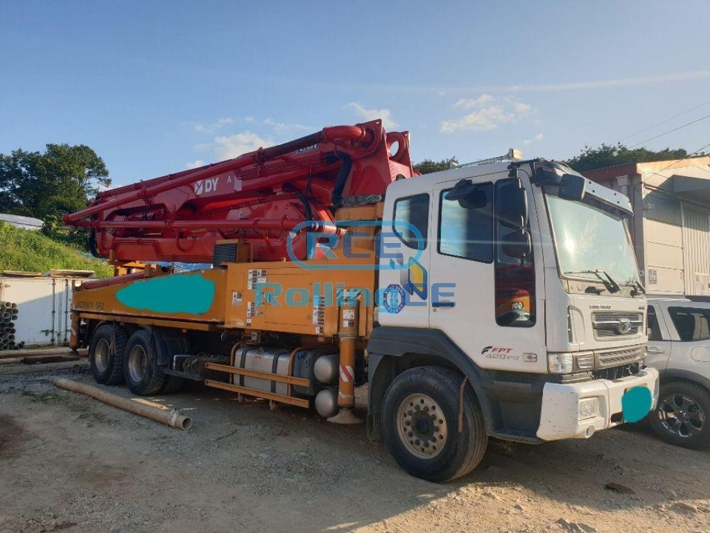 Concrete Pumps 콘크리트 펌프카 Xe bơm bê tông DONGYANG DCP45