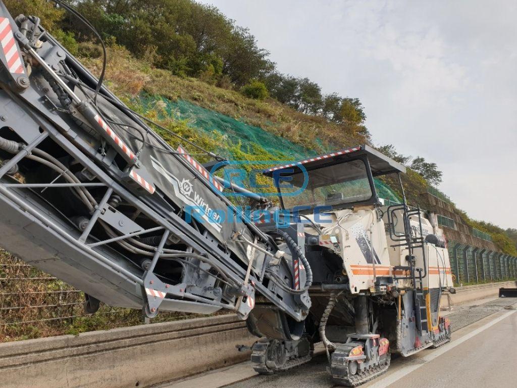 Road Construction Equipments 도로장비 Thiết bị thi công đường WIRTGEN W1900
