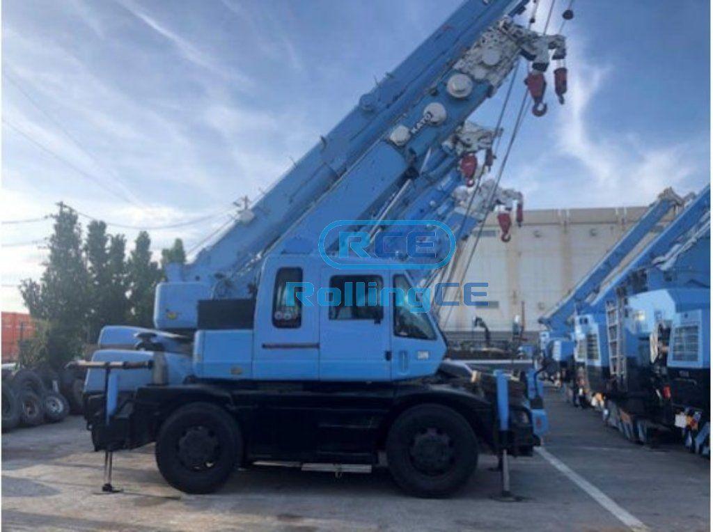 Cranes 크레인 Cần cẩu KATO KR-10H-LII
