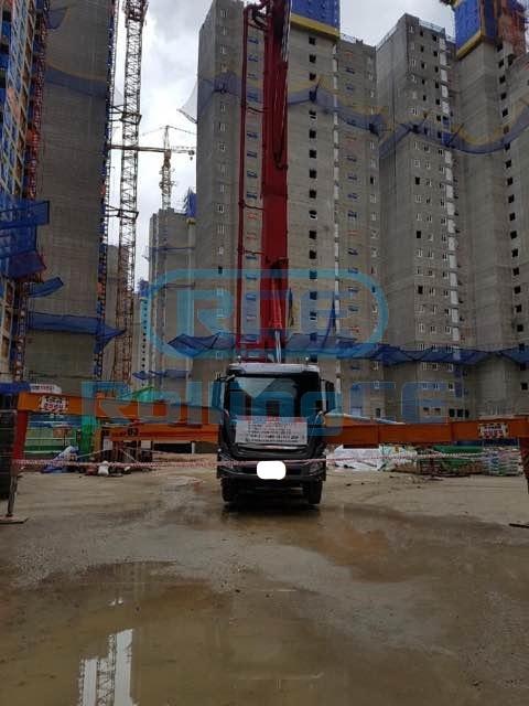Concrete Pumps 콘크리트 펌프카 Xe bơm bê tông KCP KCP63 images