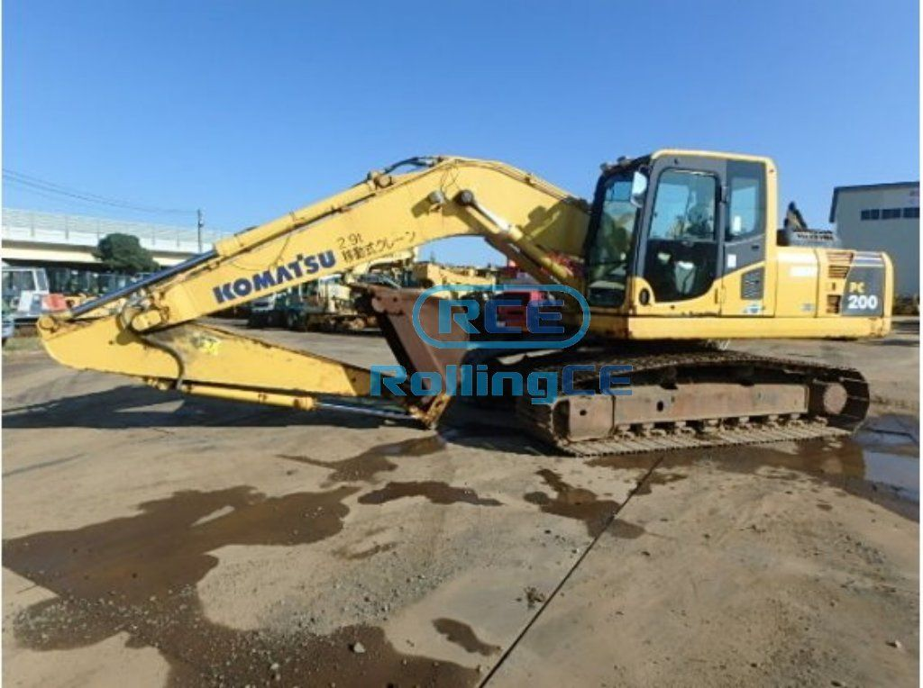 Crawler Excavators 무한 궤도식 굴삭기 Máy xúc bánh xích KOMATSU PC200-8N1