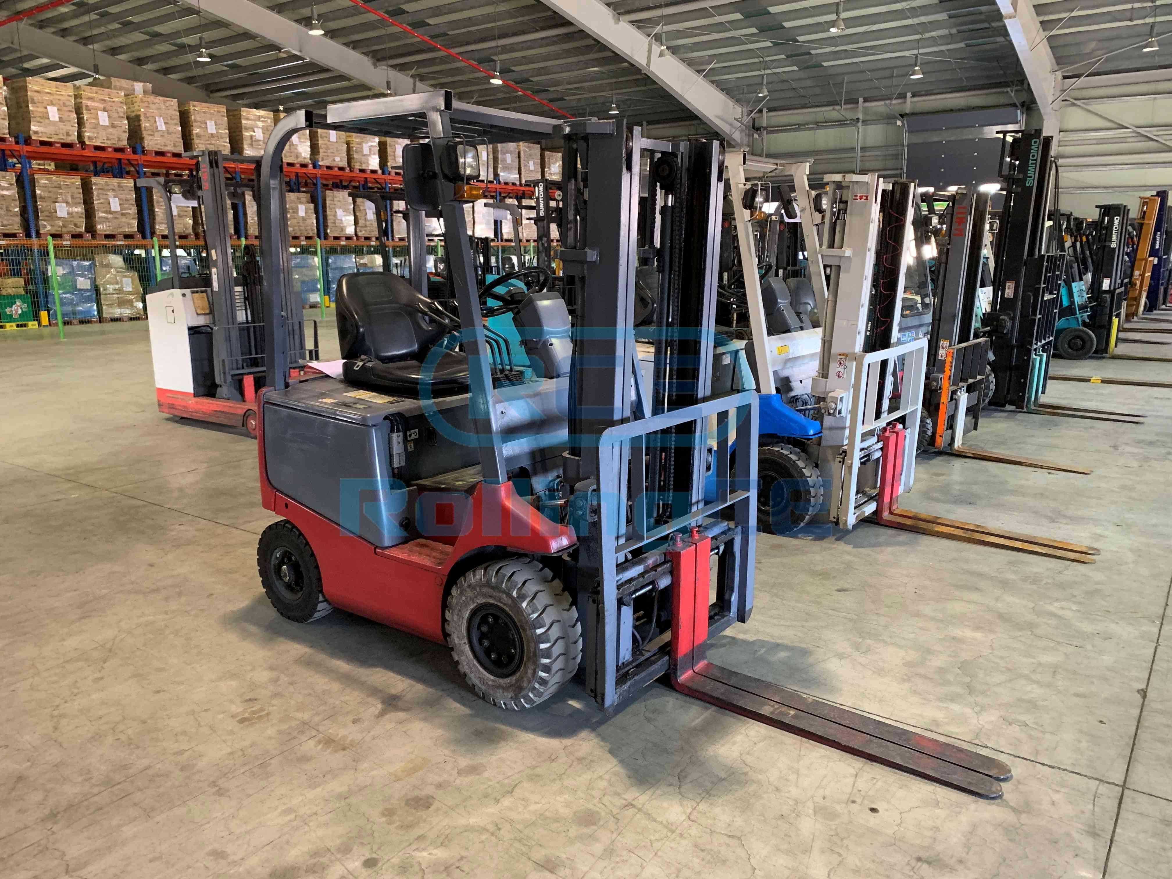 Fork Lift 지게차 Xe nâng NICHIYU FB15P-75B-300SF