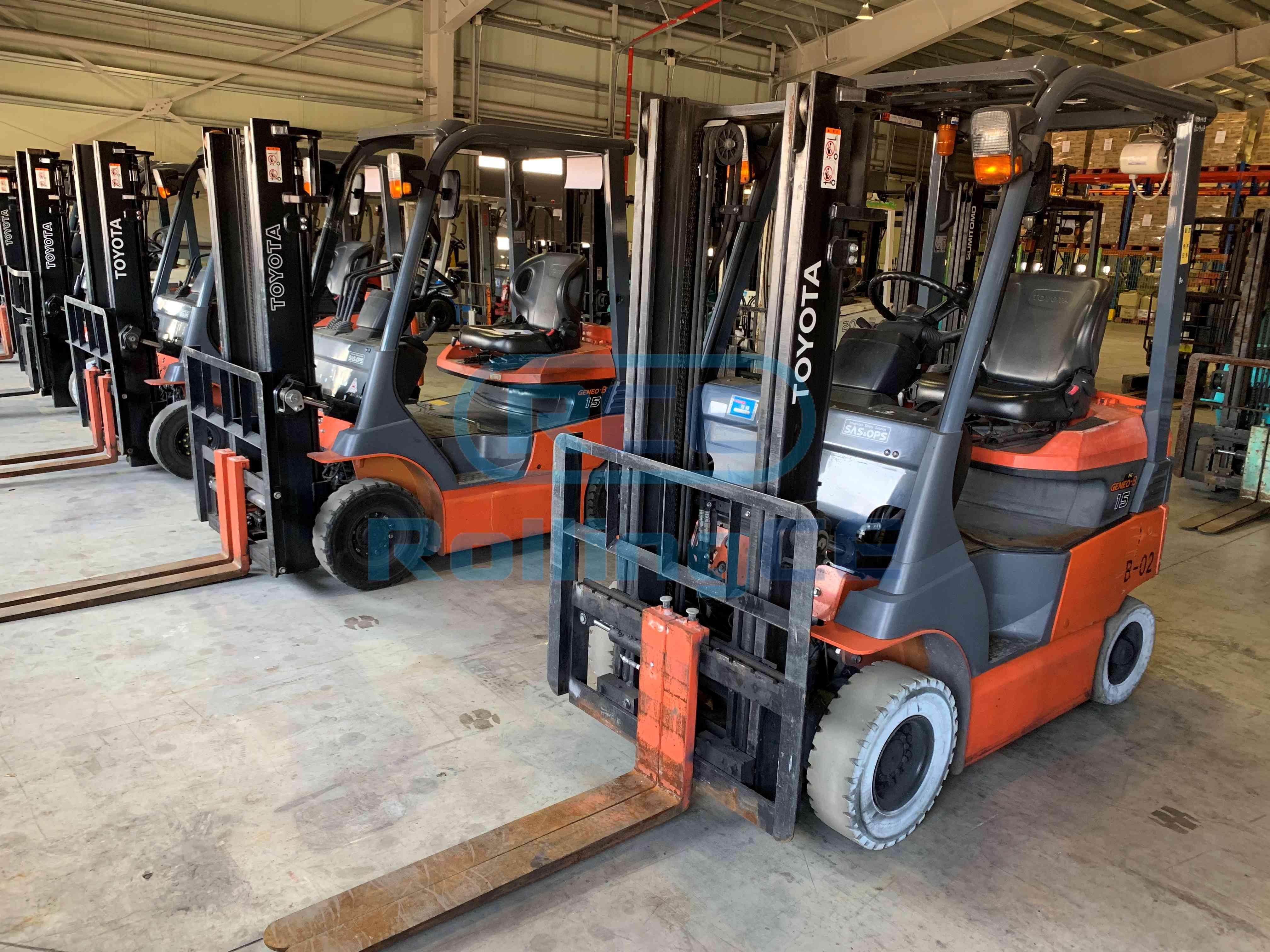 Fork Lift 지게차 Xe nâng TOYOTA 7FBH15 images