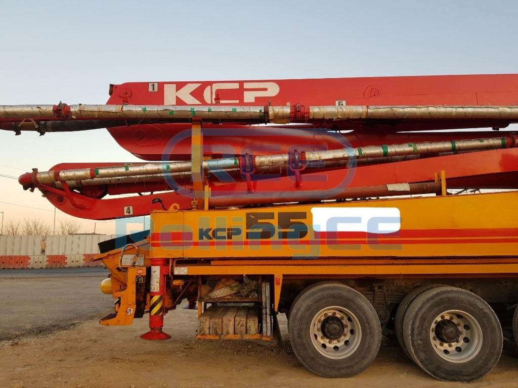 Concrete Pumps 콘크리트 펌프카 Xe bơm bê tông KCP KCP55 images