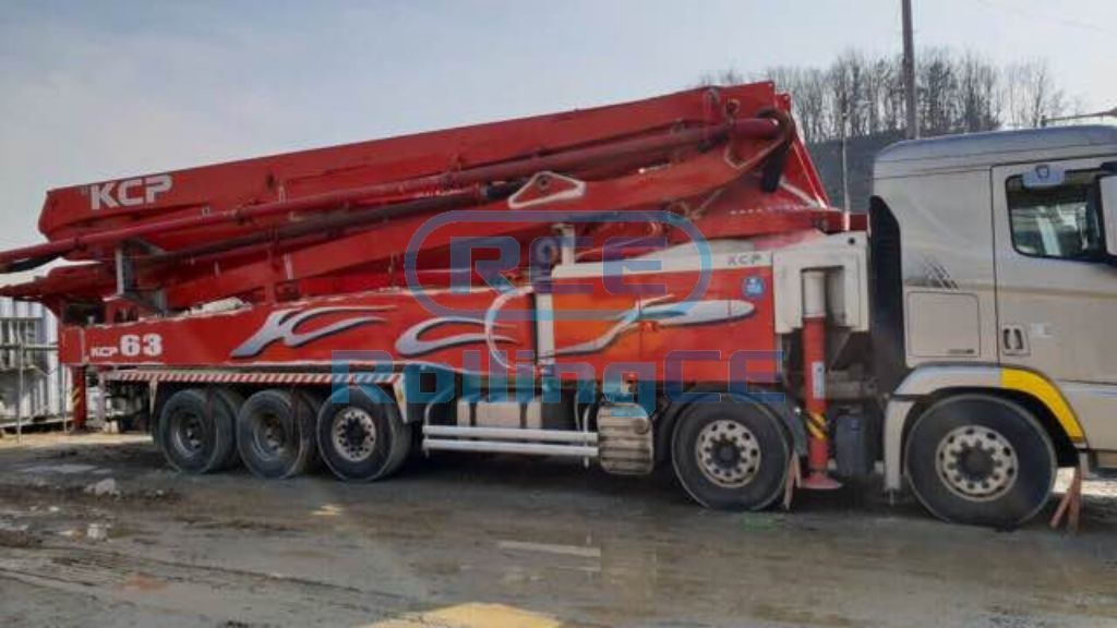 Concrete Pumps 콘크리트 펌프카 Xe bơm bê tông KCP KCP63ZX170 images