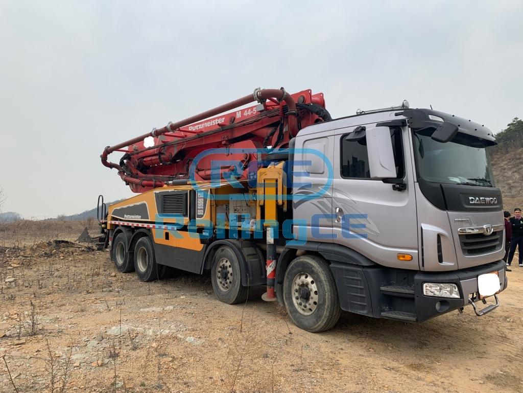 Concrete Pumps 콘크리트 펌프카 Xe bơm bê tông PUTZMEISTER BSFM44-16H images