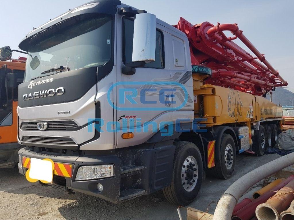 Concrete Pumps 콘크리트 펌프카 Xe bơm bê tông EVERDIGM ECP55CS images