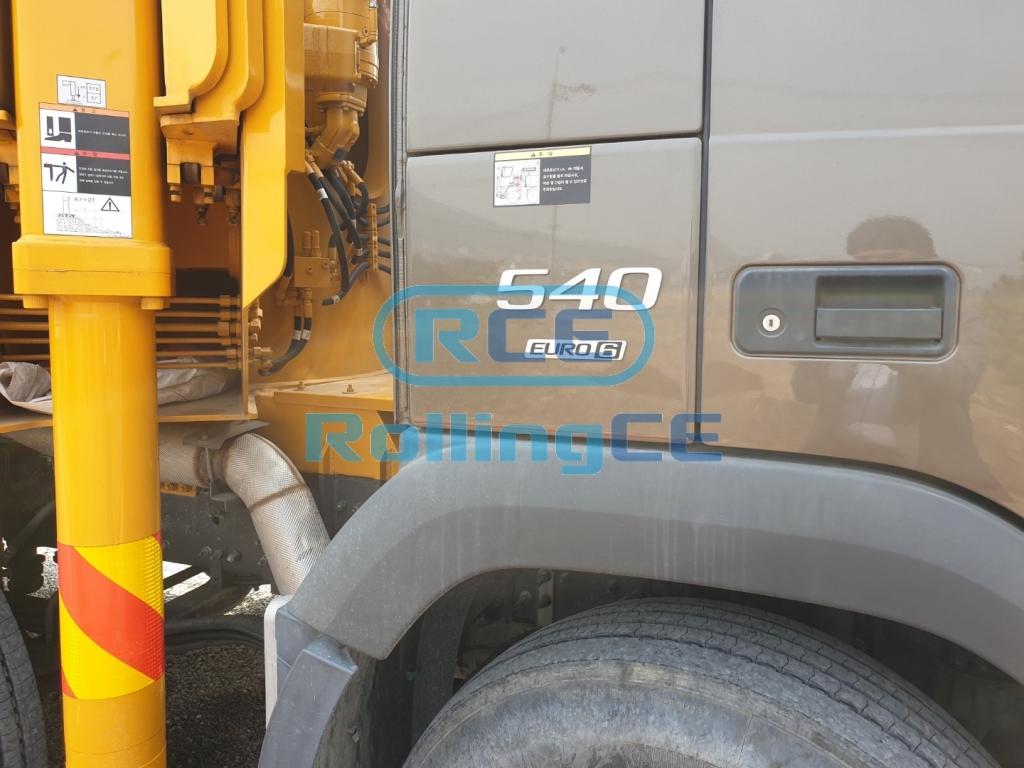 Concrete Pumps 콘크리트 펌프카 Xe bơm bê tông EVERDIGM ECP65CX images