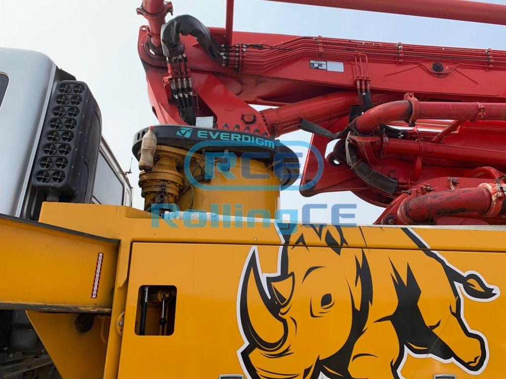 Concrete Pumps 콘크리트 펌프카 Xe bơm bê tông EVERDIGM ECP37CX images