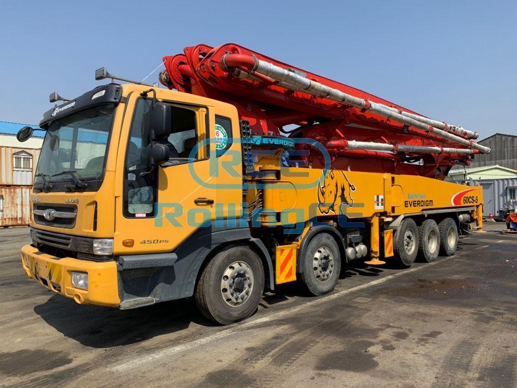 Concrete Pumps 콘크리트 펌프카 Xe bơm bê tông EVERDIGM ECP60CS