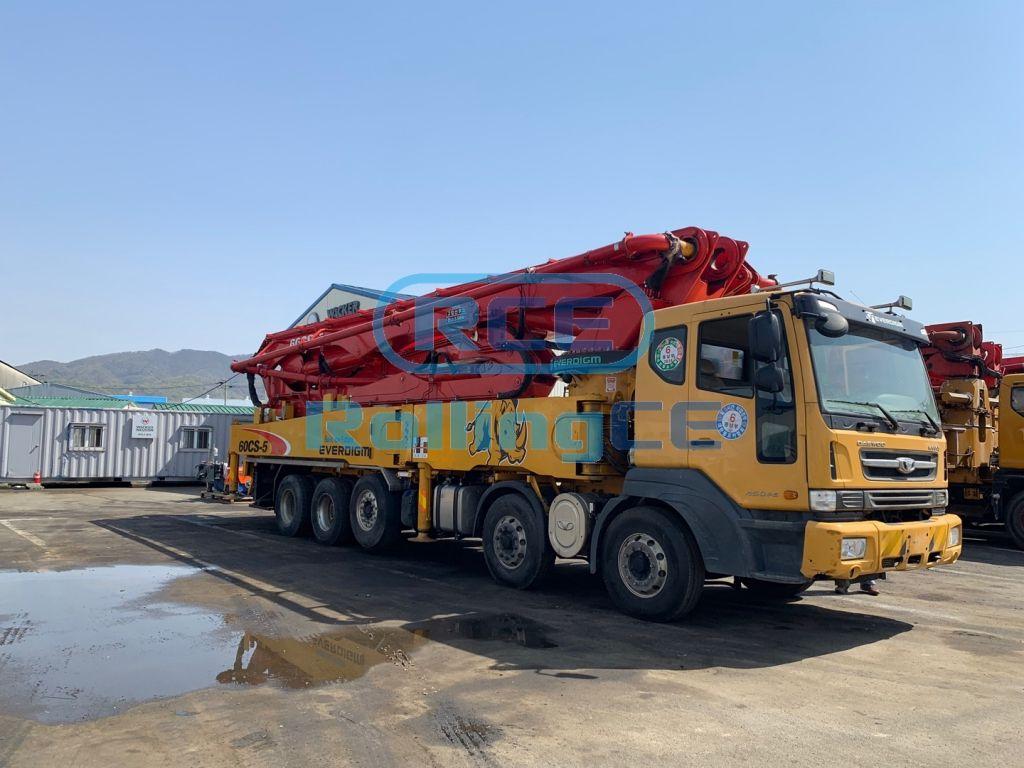 Concrete Pumps 콘크리트 펌프카 Xe bơm bê tông EVERDIGM ECP60CS images