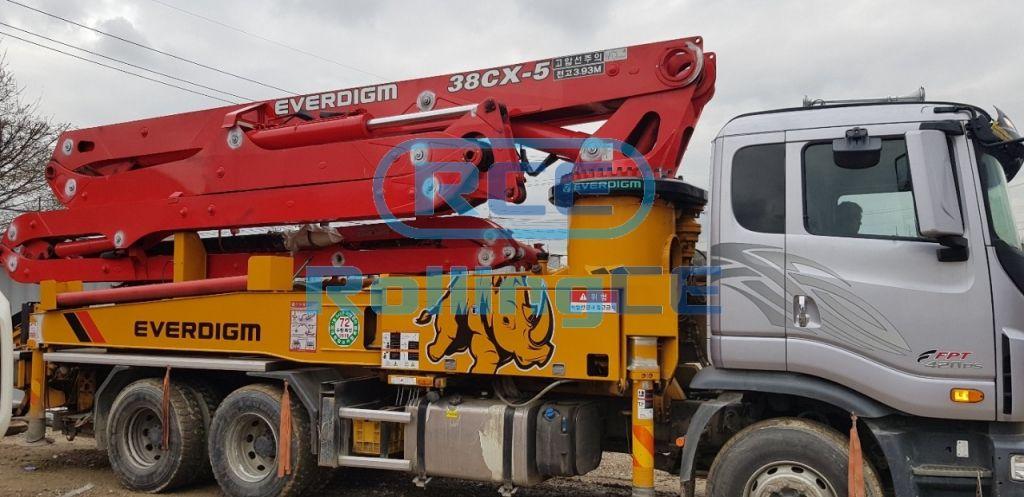Concrete Pumps 콘크리트 펌프카 Xe bơm bê tông EVERDIGM ECP38CX images