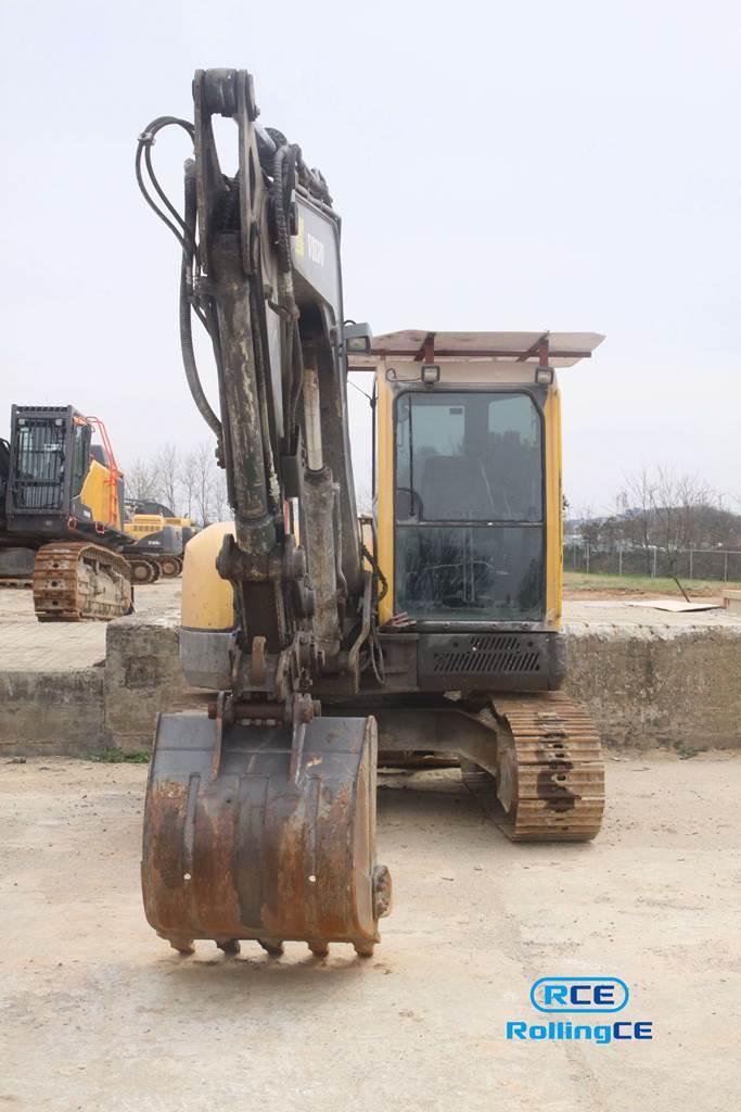 Crawler Excavators 무한 궤도식 굴삭기 Máy xúc bánh xích VOLVO ECR88 images