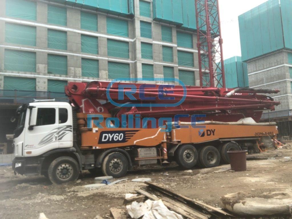 Concrete Pumps 콘크리트 펌프카 Xe bơm bê tông DONGYANG DCP60S-6RZ images