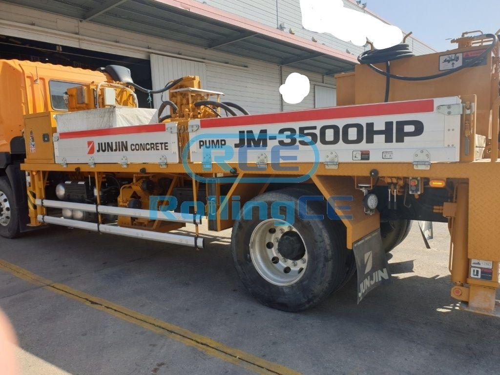 Concrete Pumps 콘크리트 펌프카 Xe bơm bê tông JUNJIN JM-3500HP images