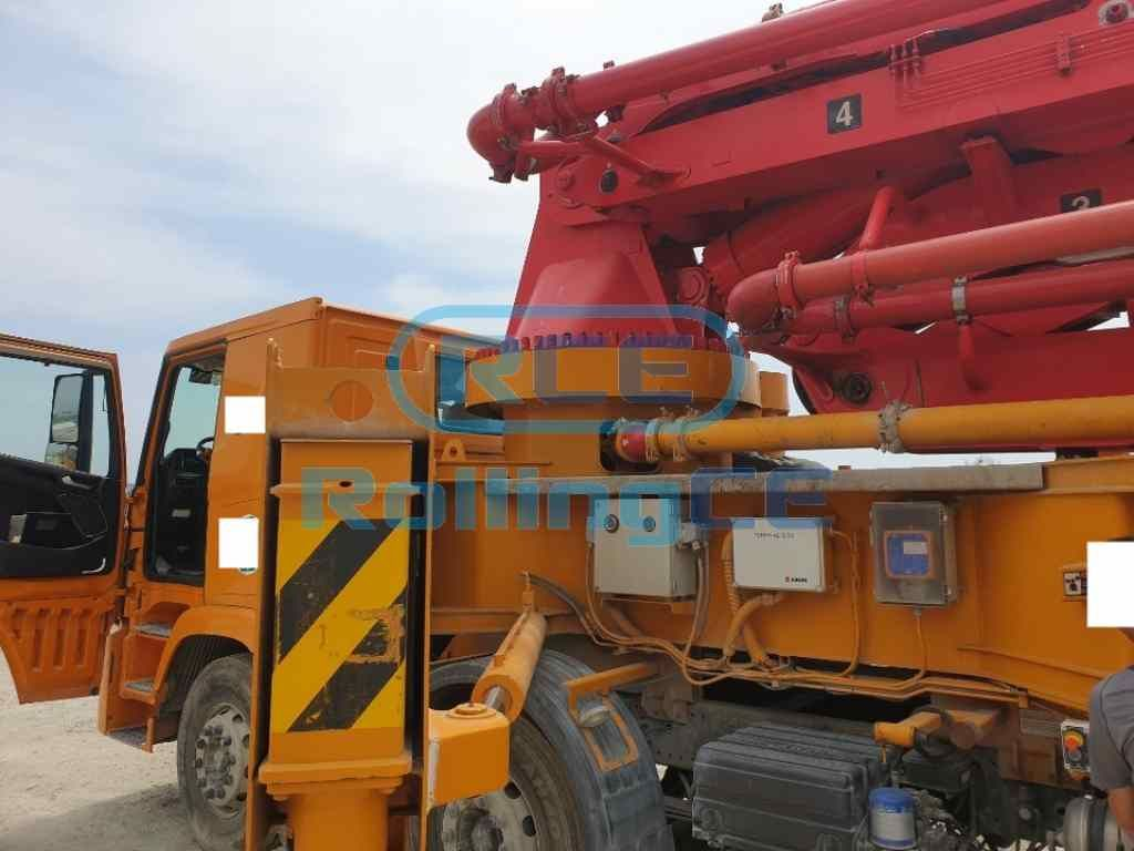 Concrete Pumps 콘크리트 펌프카 Xe bơm bê tông JUNJIN JJ-H5517 images