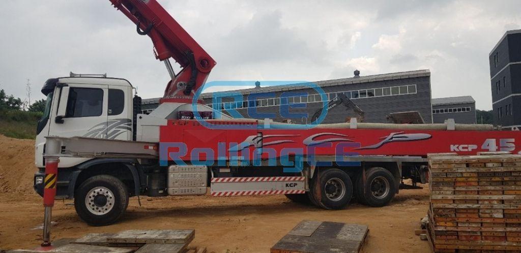 Concrete Pumps 콘크리트 펌프카 Xe bơm bê tông KCP KCP45ZX5170 images