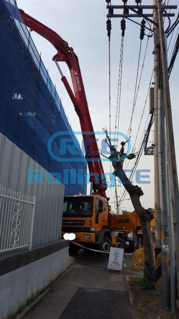 Concrete Pumps 콘크리트 펌프카 Xe bơm bê tông JUNJIN JJ-M5517