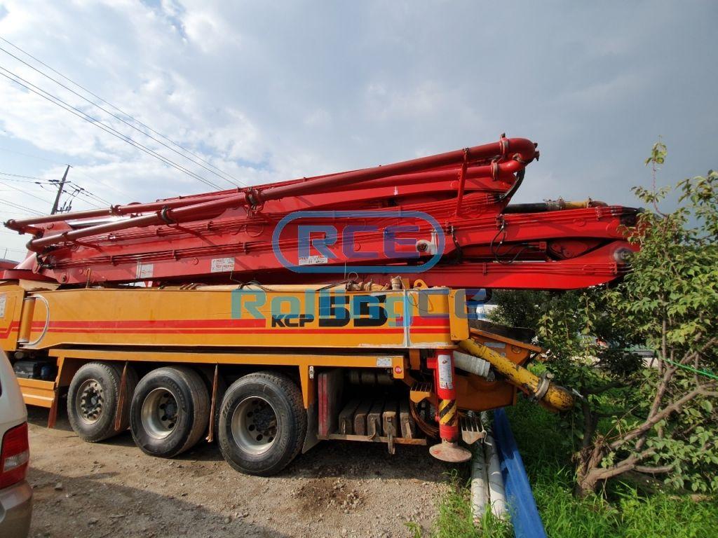 Concrete Pumps 콘크리트 펌프카 Xe bơm bê tông KCP KCP55ZX images