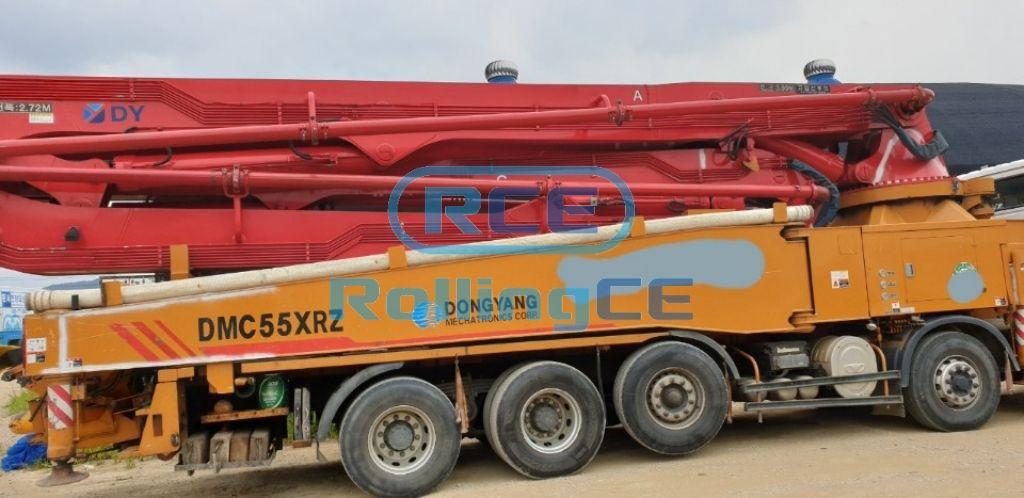 Concrete Pumps 콘크리트 펌프카 Xe bơm bê tông DONGYANG DMC55XRZ images