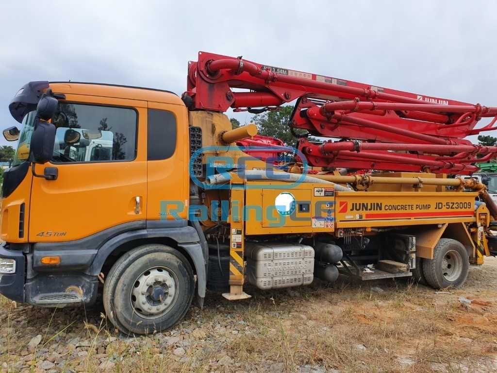 Concrete Pumps 콘크리트 펌프카 Xe bơm bê tông JUNJIN JD-5Z3009 images