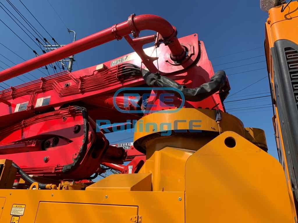 Concrete Pumps 콘크리트 펌프카 Xe bơm bê tông JUNJIN JX-RZ42 images