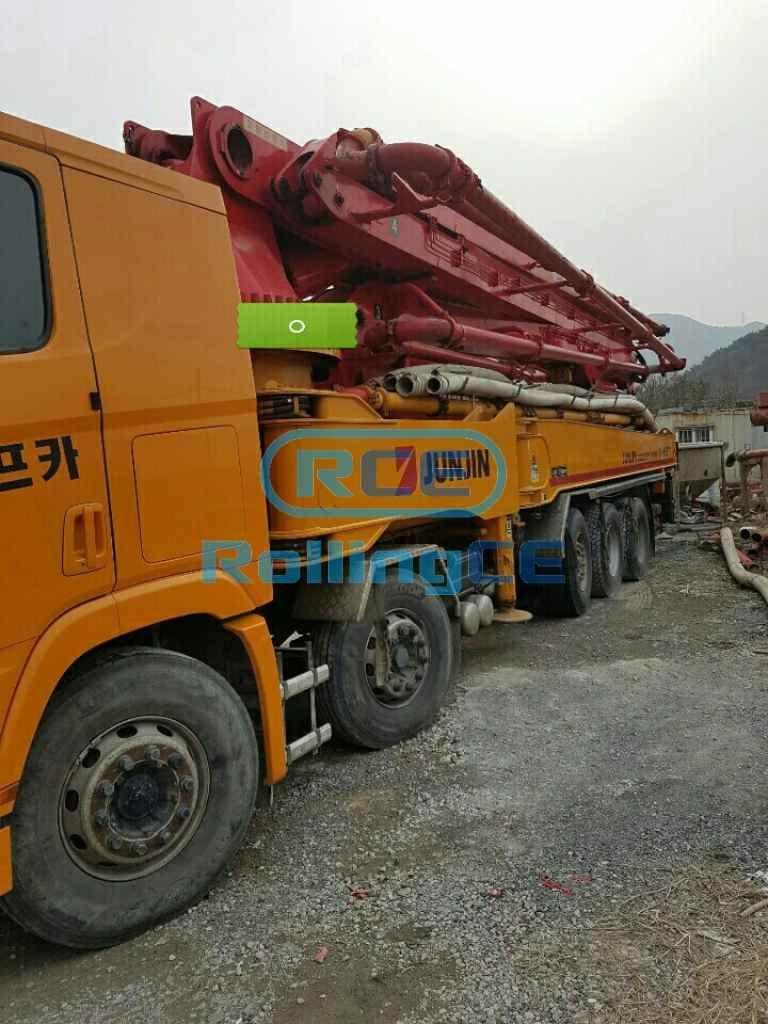 Concrete Pumps 콘크리트 펌프카 Xe bơm bê tông JUNJIN JJ-H5517