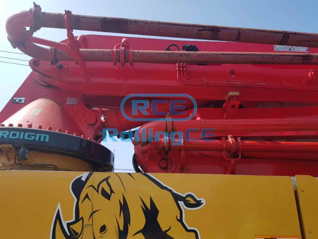Concrete Pumps 콘크리트 펌프카 Xe bơm bê tông EVERDIGM ECP55 images