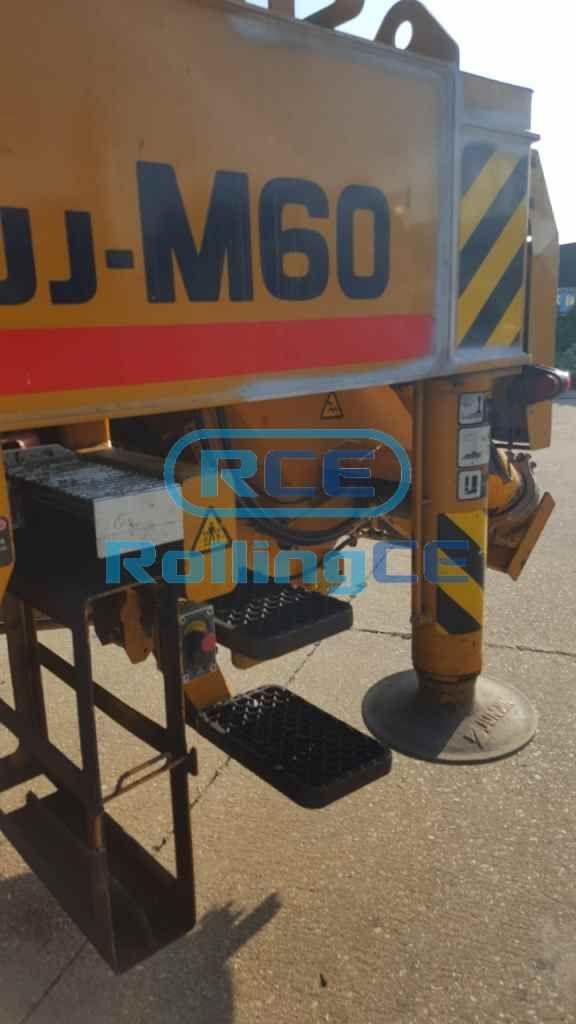 Concrete Pumps 콘크리트 펌프카 Xe bơm bê tông JUNJIN JJ-M60 images