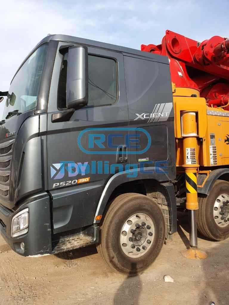 Concrete Pumps 콘크리트 펌프카 Xe bơm bê tông DONGYANG DCP55X-5RZ images