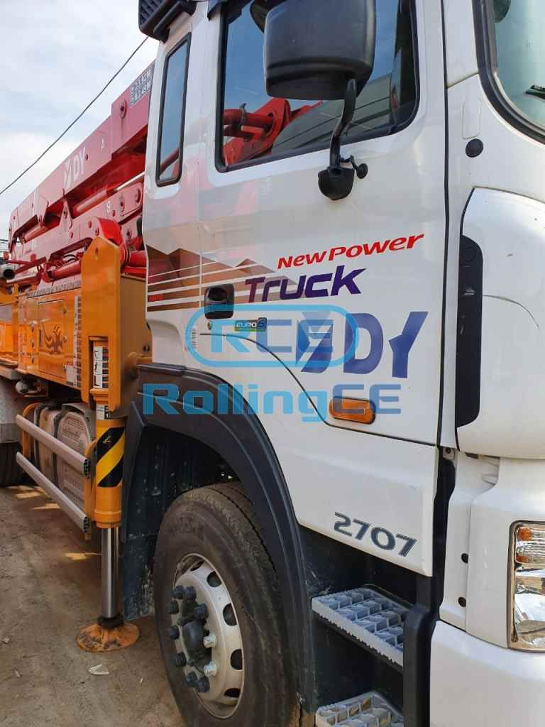 Concrete Pumps 콘크리트 펌프카 Xe bơm bê tông DONGYANG DCP42X-5RZ images