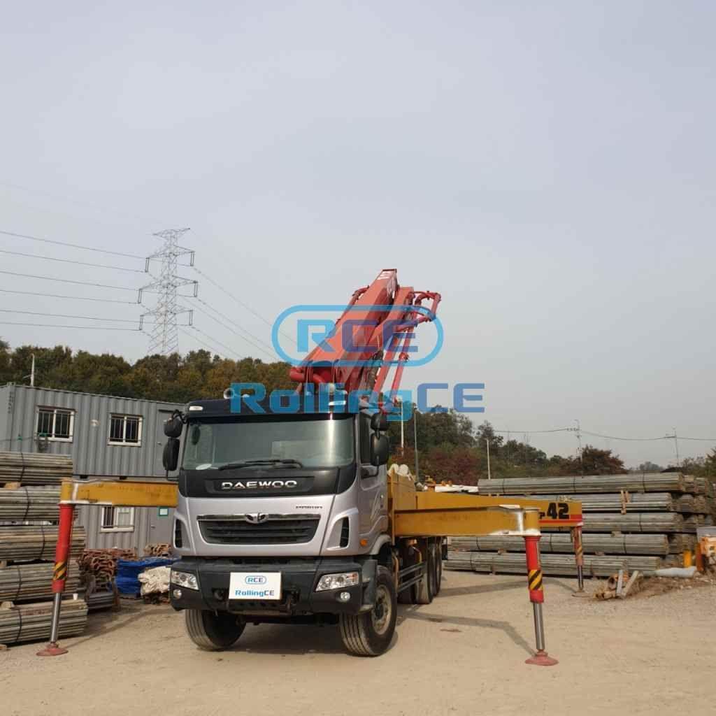 Concrete Pumps 콘크리트 펌프카 Xe bơm bê tông KCP KCP42RX170