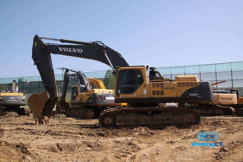 Crawler Excavators 무한 궤도식 굴삭기 Máy xúc bánh xích VOLVO EC460BLC
