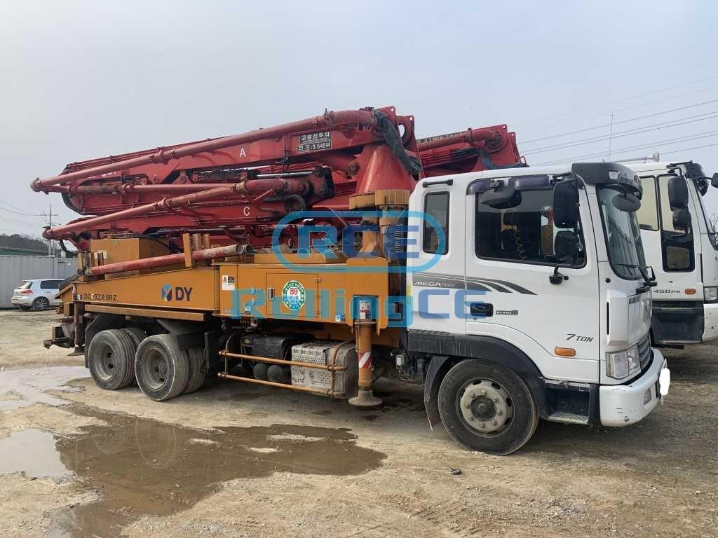 Concrete Pumps 콘크리트 펌프카 Xe bơm bê tông DONGYANG DCP32X-5RZ