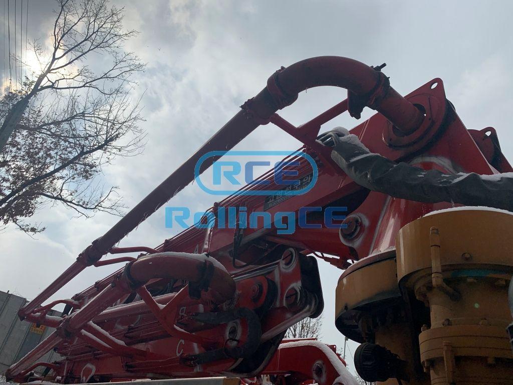 Concrete Pumps 콘크리트 펌프카 Xe bơm bê tông DONGYANG DCP32X-5RZ images