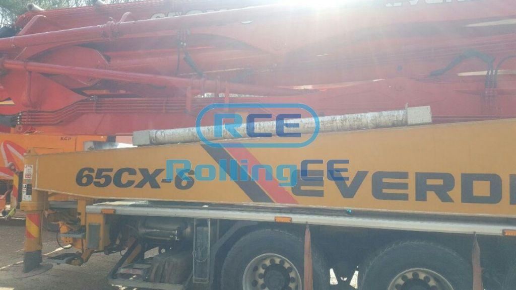 Concrete Pumps 콘크리트 펌프카 Xe bơm bê tông EVERDIGM ECP65CX-6 images
