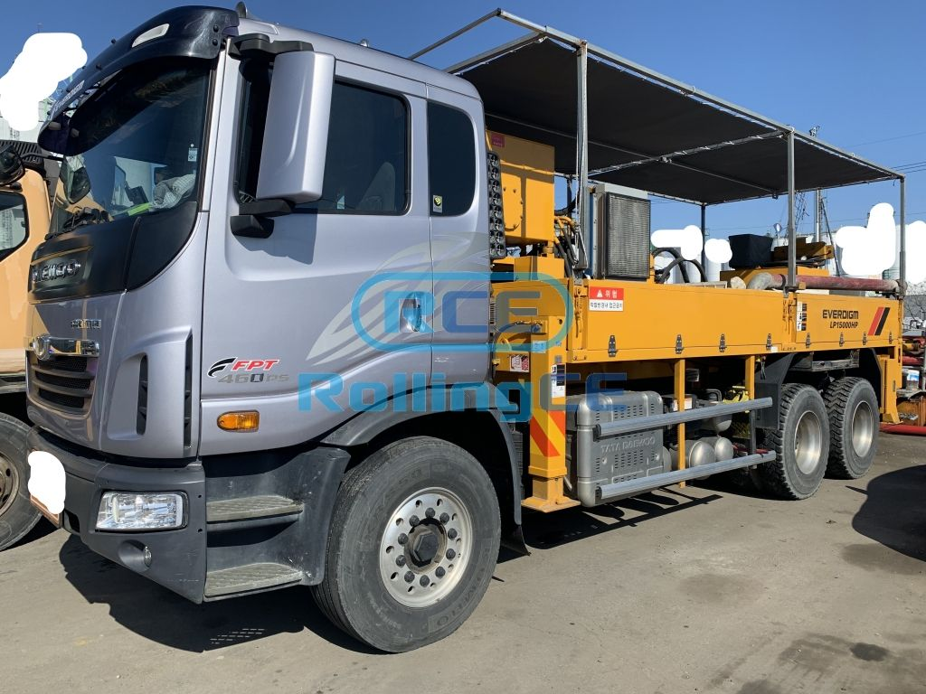 Concrete Pumps 콘크리트 펌프카 Xe bơm bê tông EVERDIGM ELP15000HP
