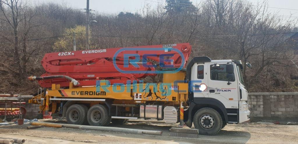 Concrete Pumps 콘크리트 펌프카 Xe bơm bê tông EVERDIGM ECP42CXN