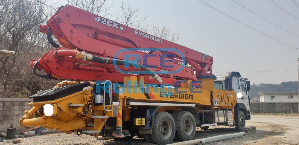 Concrete Pumps 콘크리트 펌프카 Xe bơm bê tông EVERDIGM ECP42CXN images