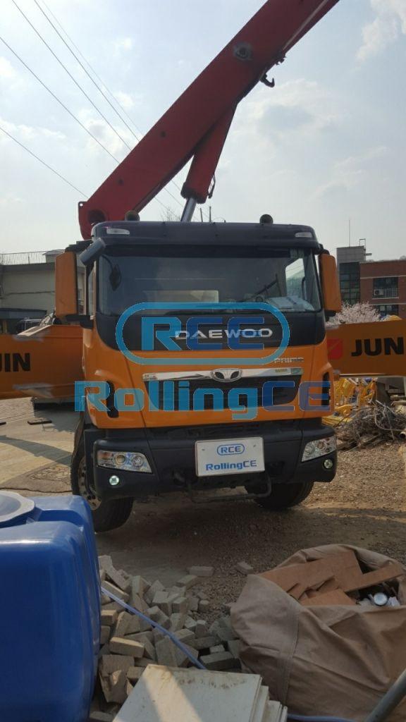 Concrete Pumps 콘크리트 펌프카 Xe bơm bê tông JUNJIN JD-M60