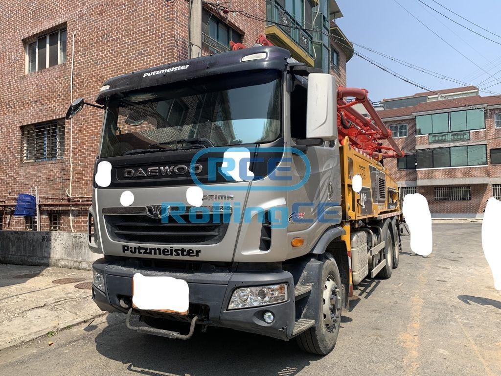 Concrete Pumps 콘크리트 펌프카 Xe bơm bê tông PUTZMEISTER BSF 42-5.16H