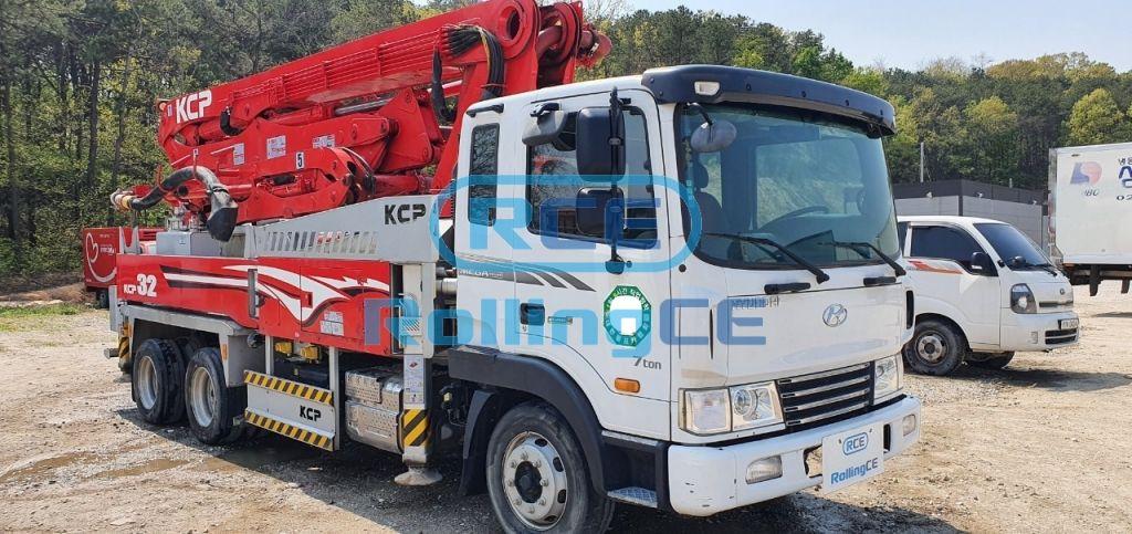 Concrete Pumps 콘크리트 펌프카 Xe bơm bê tông KCP KCP32ZX5120