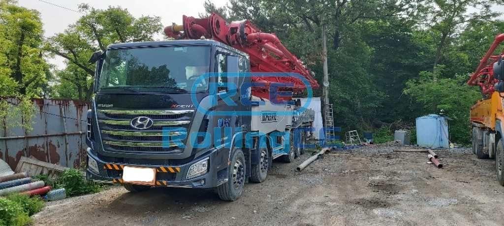 Concrete Pumps 콘크리트 펌프카 Xe bơm bê tông DONGYANG DY63