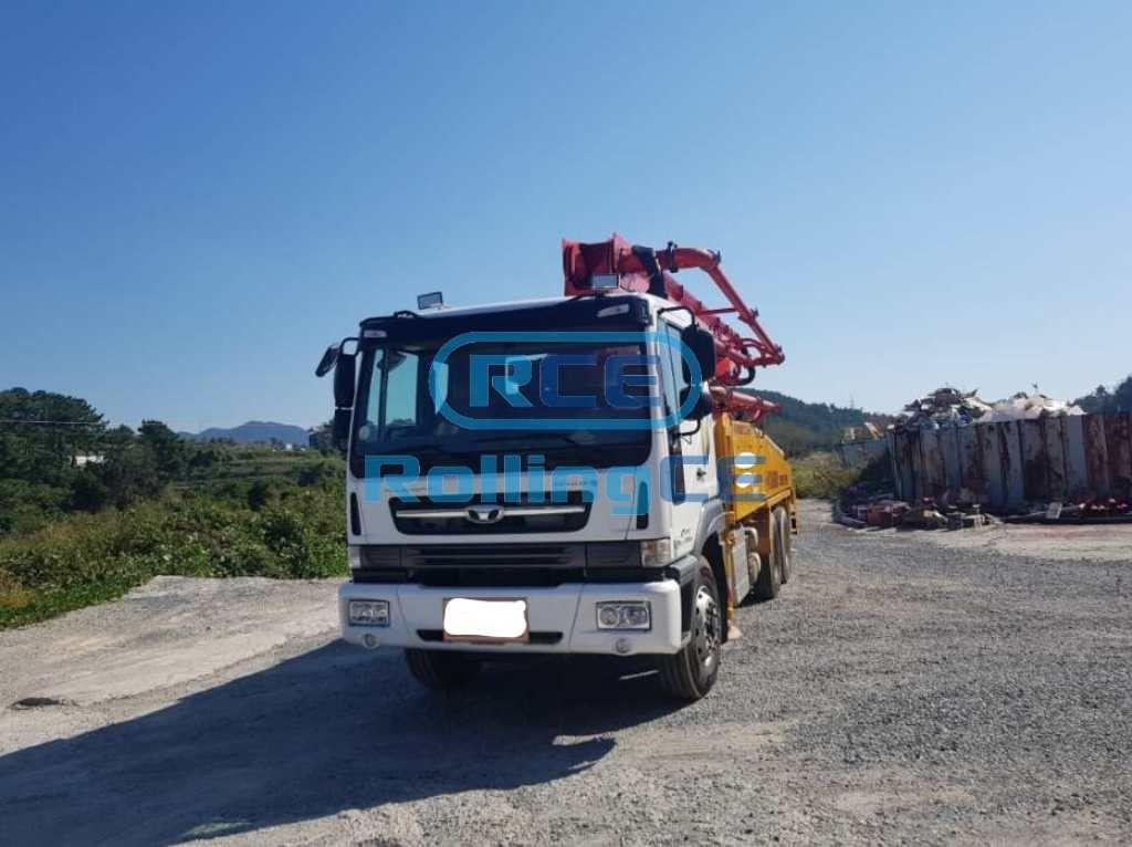 Concrete Pumps 콘크리트 펌프카 Xe bơm bê tông KYUNGWON KW37