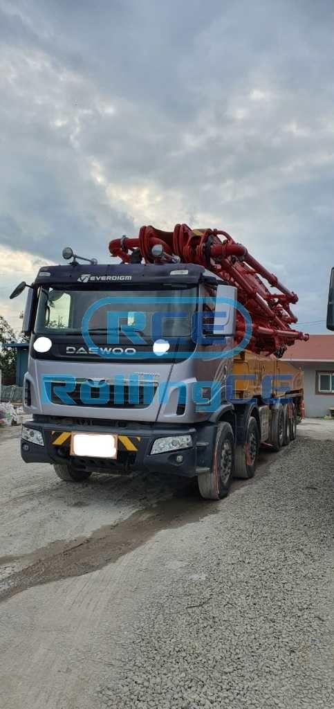 Concrete Pumps 콘크리트 펌프카 Xe bơm bê tông EVERDIGM ECP60CS-6