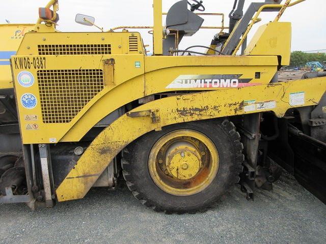 Road Construction Equipments 도로장비 Thiết bị thi công đường SUMITOMO HA60W-5