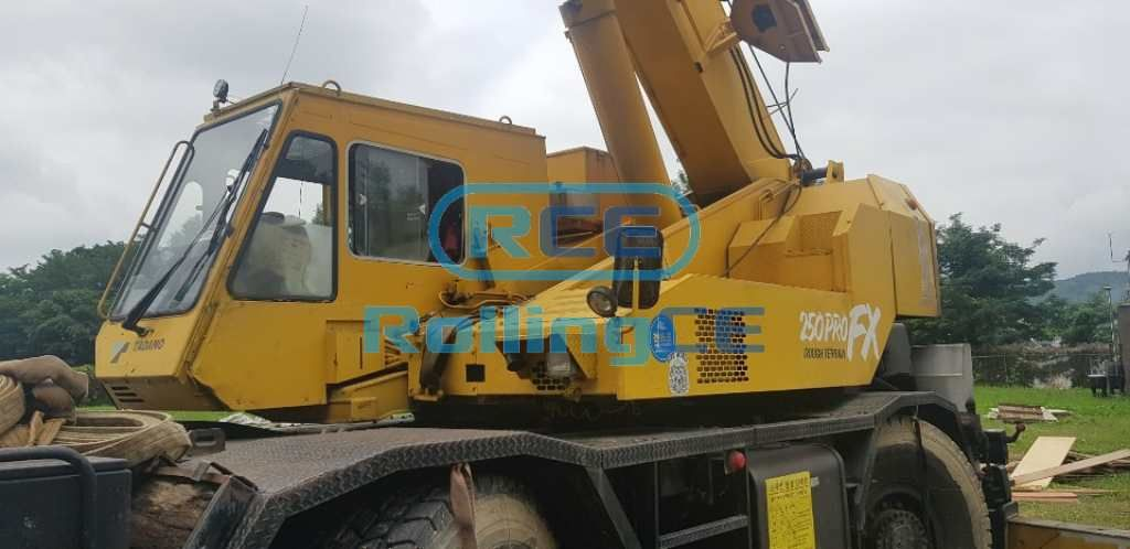 Cranes 크레인 Cần cẩu TADANO TR250M-5
